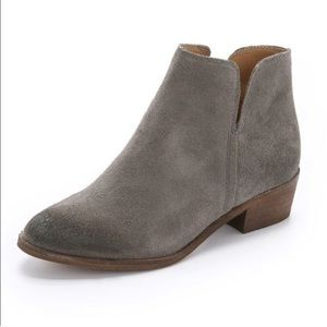 🍍Splendid grey suede Hamptyn booties 8.5